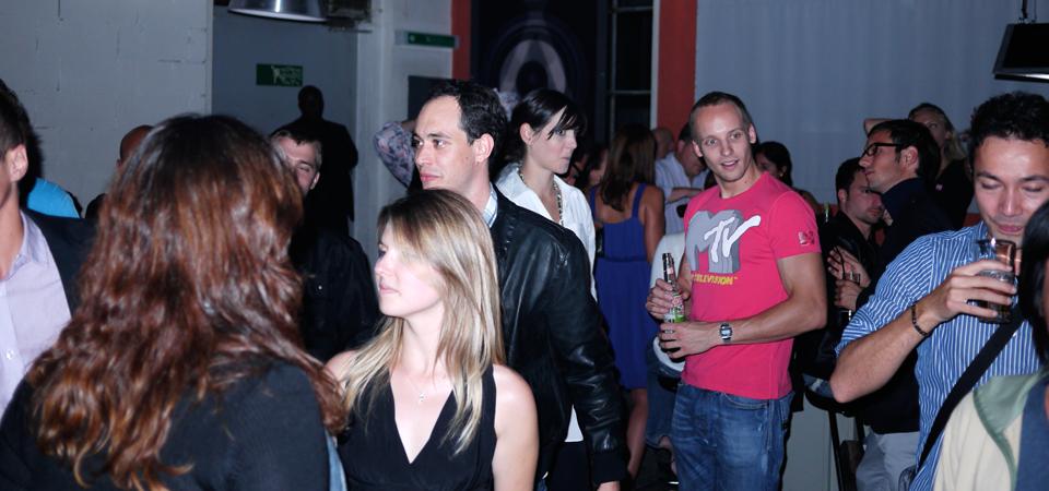 Participants à la soirée de lancement