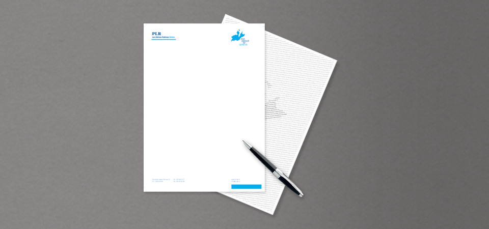 Overview of the letterhead