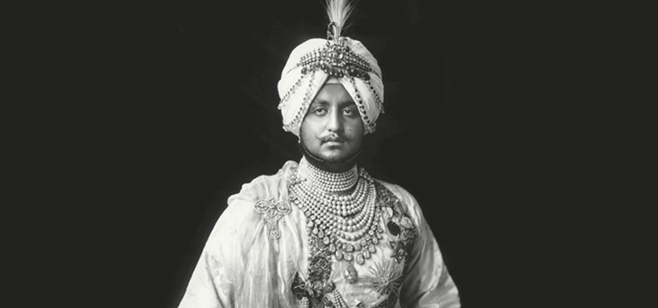 Picture of a maharaja