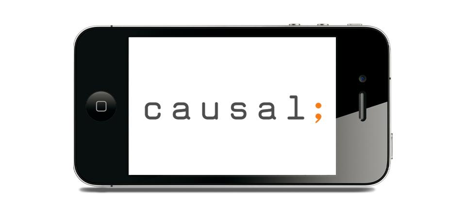 Visuel du logo sur smartphone