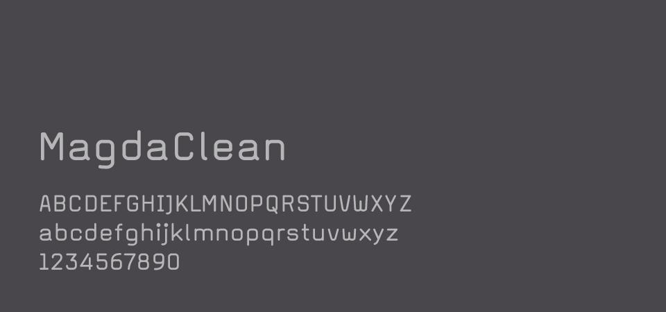 Typographie pour le corps de texte en gris