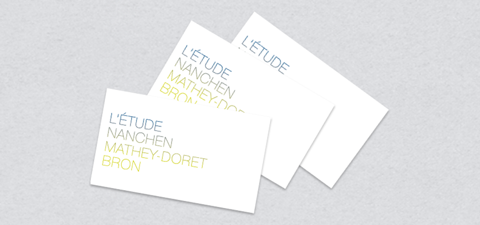 business cards verso