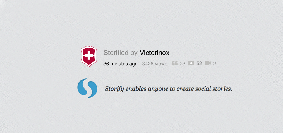 Storify display