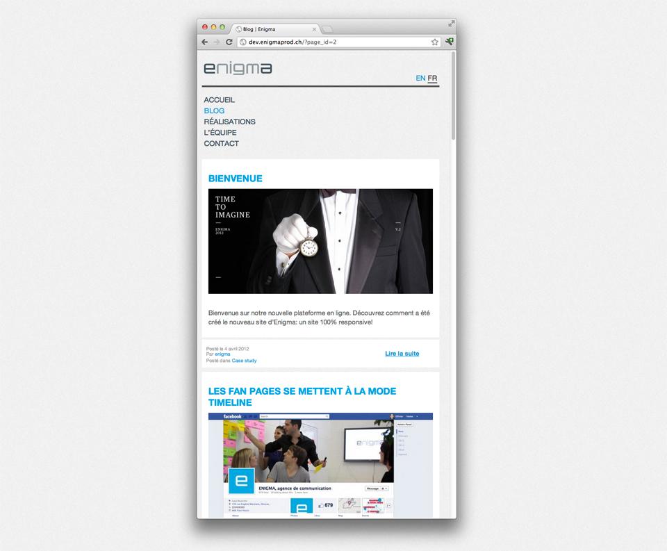 Website's responsivity