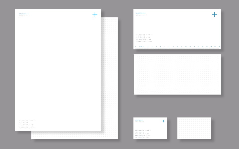 Corporate identity on new stationeries