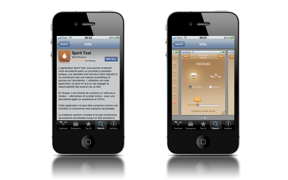 Details of the app