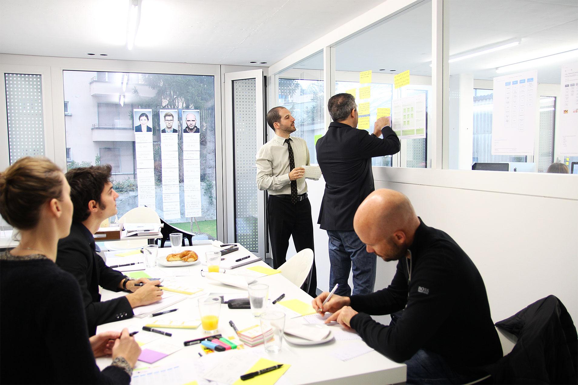 Workshop User Story bezüglich der neuen Website