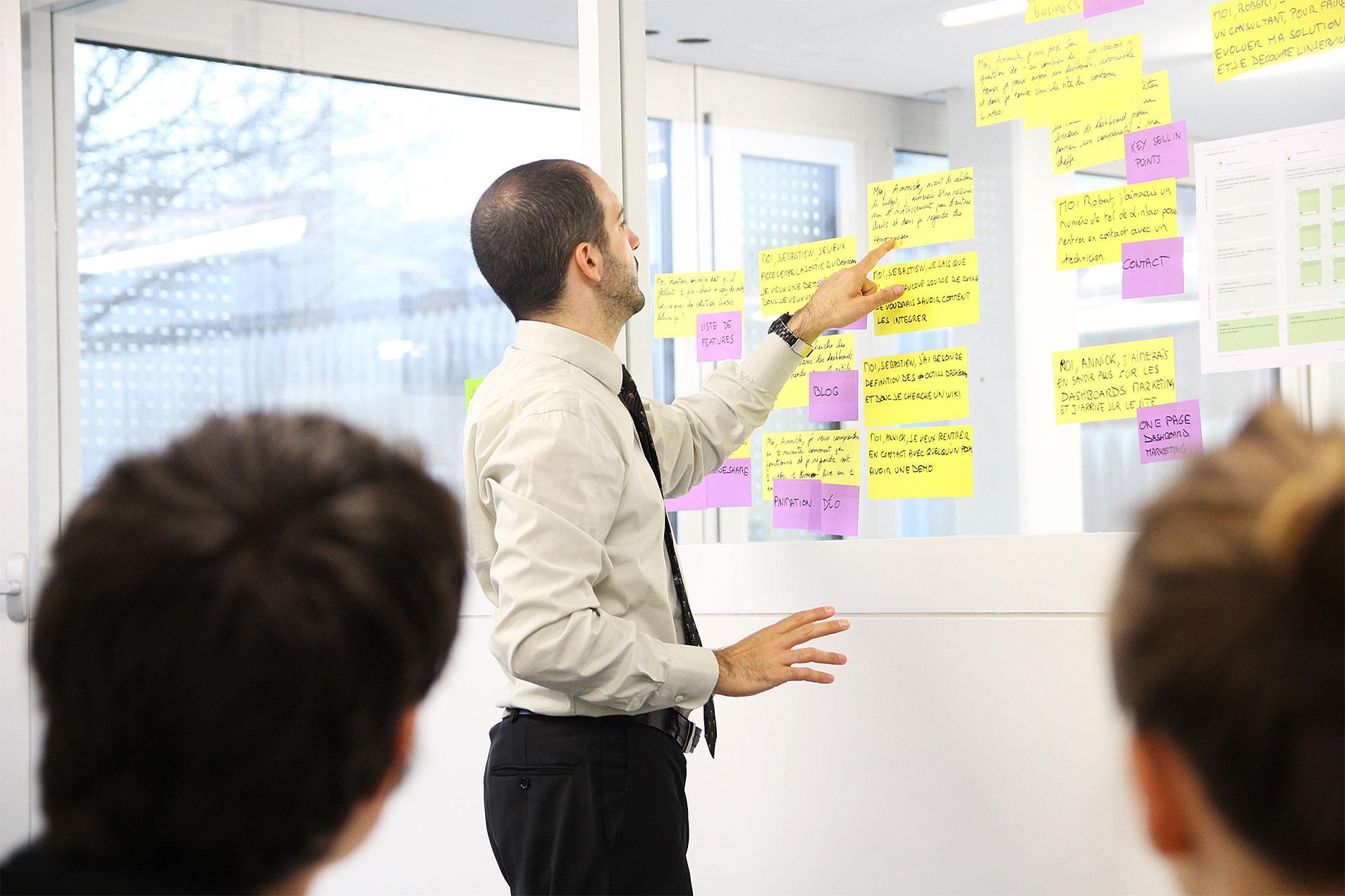 Workshop um das Rebranding zu definieren