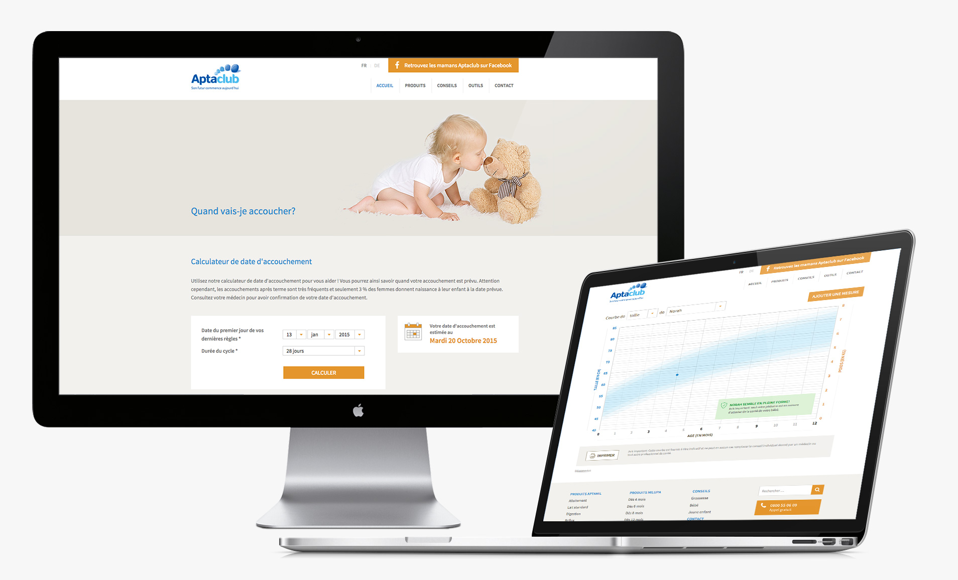 Tool growth chart and calculator and delivery date for the website