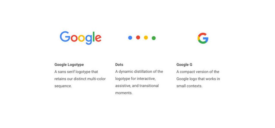 google responsive logos