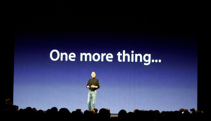 Steve Jobs – One more thing