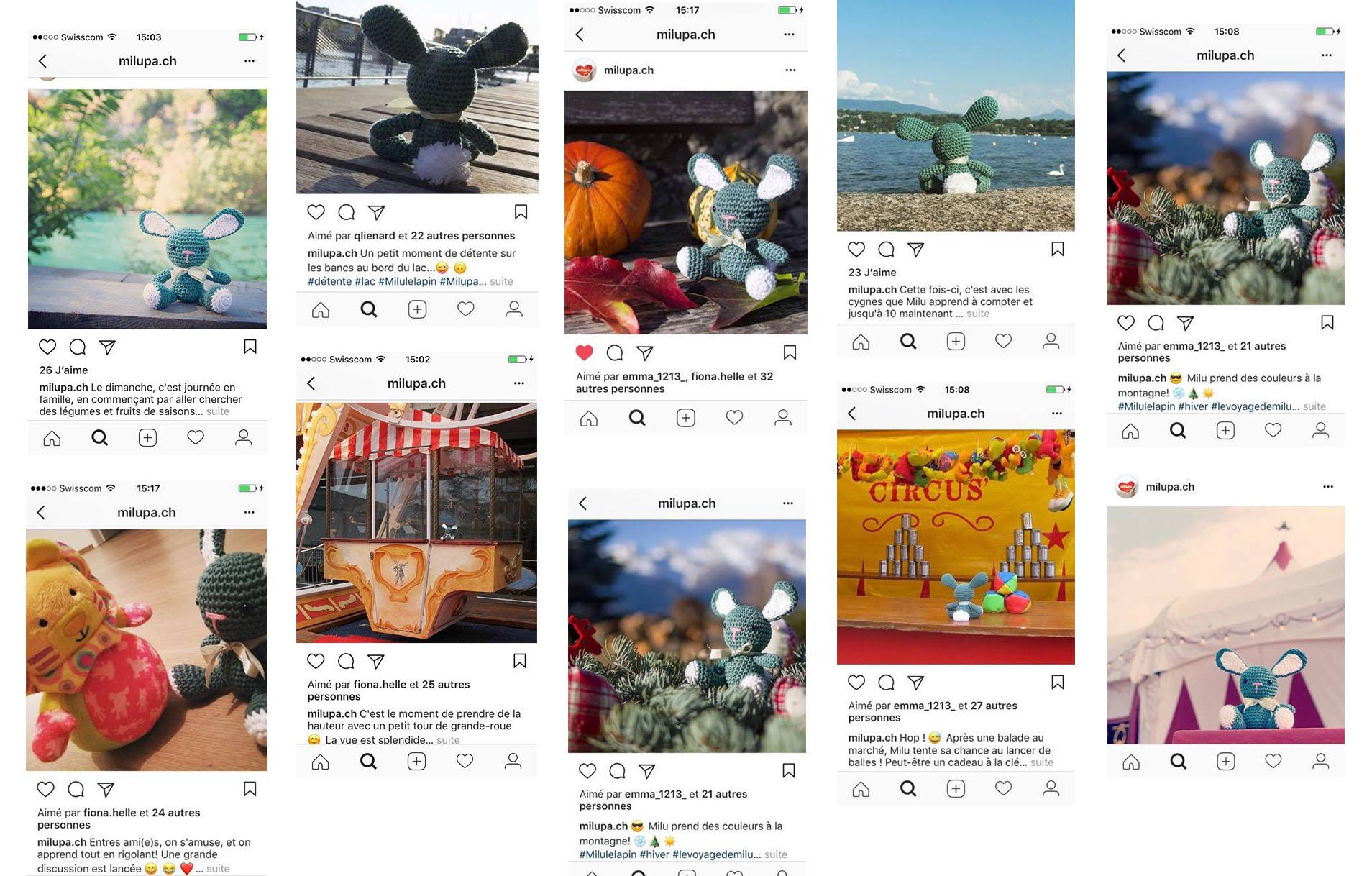 Instagram Posts Milupa