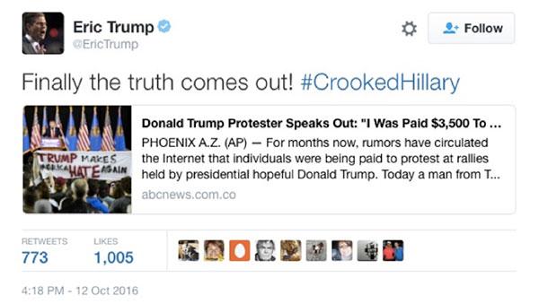 Fake news: imposter ABC News website distributes false information