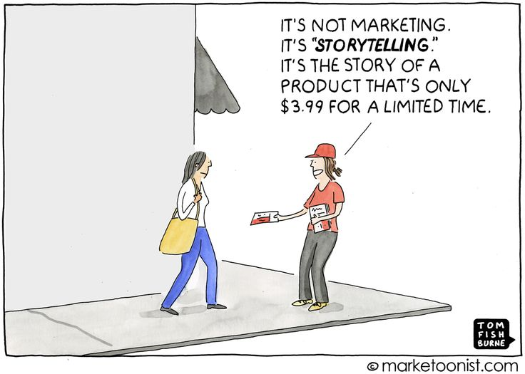 Marketoonist - Storytelling