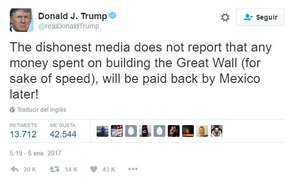 tweet trump wall