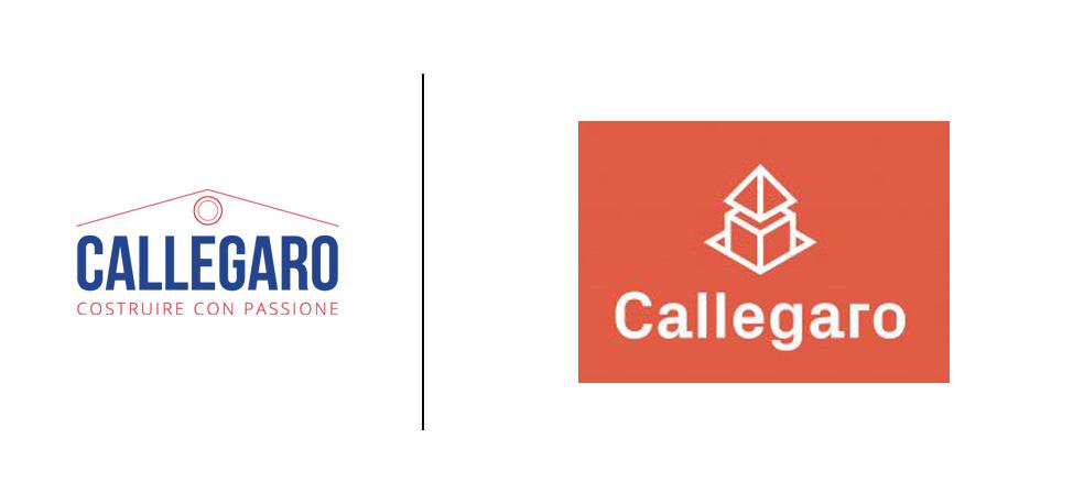 callegaro logo old vs. new