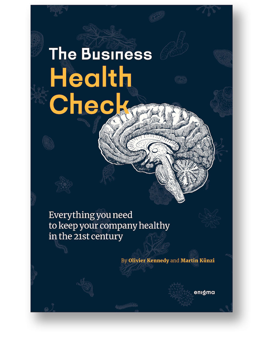 Cover of The Business Health Check, a book by Enigma