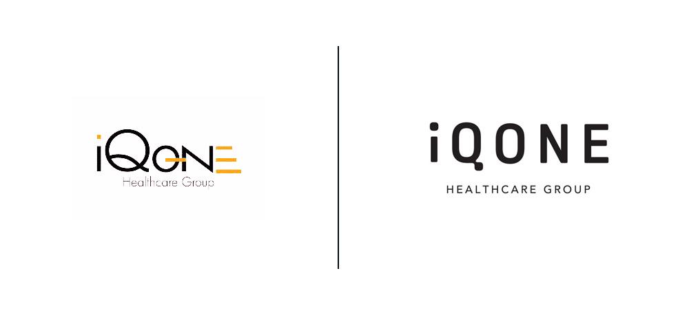 Iqone logo old vs. new