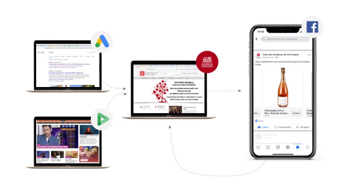digital-campaign-le-cave-enigma-setup